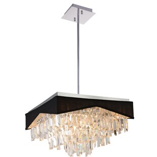 Havely 13-Light Square/Rectangle Chandelier By CWI Lighting