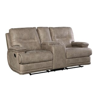 Shop Camron Console Manual Reclining Loveseat by Latitude Run
