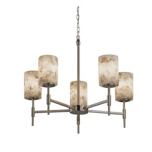 Rosecliff Heights Conovan 5-Light Shaded Chandelier