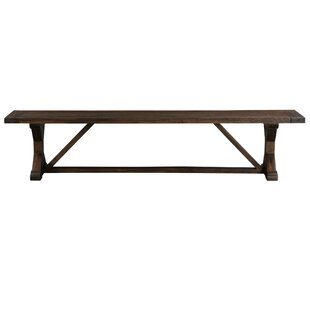 Owensby Wood Bench by Williston Forge