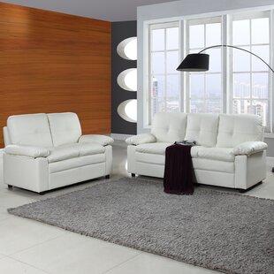 Ebern Designs Brittanie 2 Piece Living Room Set