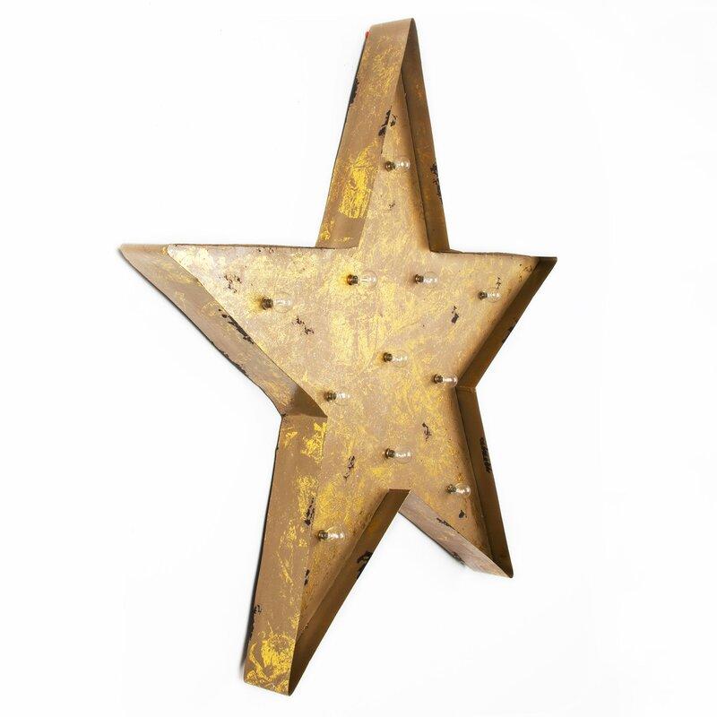 Funky Tin Stars Wall Decor Photo - Wall Art Design - leftofcentrist.com