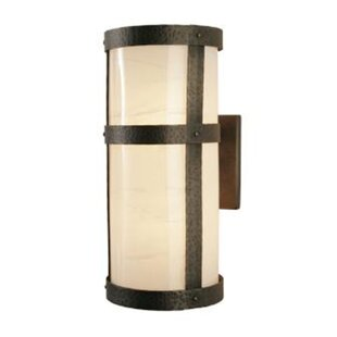Steel Partners Portland Open Tall Open Narrow 1-Light Outdoor Sconce