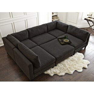 Sectional With Large Ottoman | Wayfair