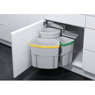 Vauth-Sagel Oeko 3 Piece Pull Out Trash Can