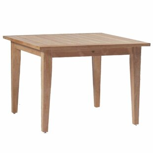 Club Solid Wood Dining Table by Summer Classics