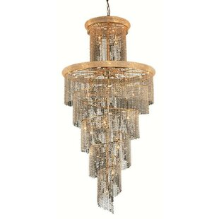 Mathilde 41-Light Crystal Chandelier by E..