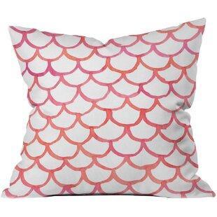 Scalloppy Outdoor Throw Pillow (Set of 2)