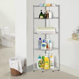 Adjustable Corner Unit Bookcase Lifewit