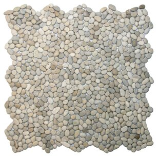 Yangtze Random Sized Natural Stone Mosaic Tile in Java Tan