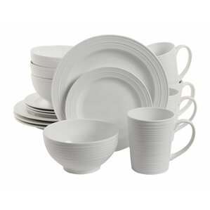 colleen 16 piece dinnerware set service for 4 - Dishware Sets
