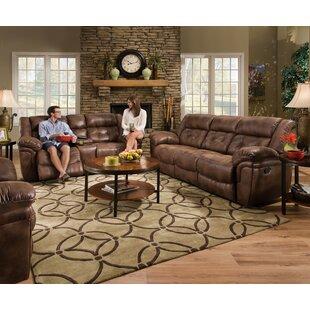 Loon Peak Ruffin Reclining Configurable Living Room Set