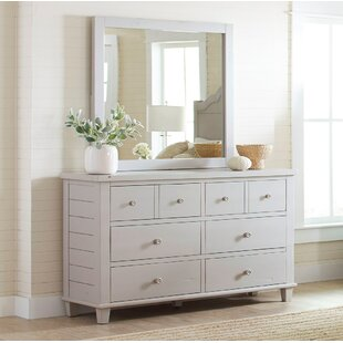 August Grove Ginns 8 Drawer Double Dresser w..