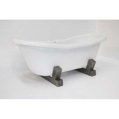 "Restoria Bathtub Company Farmstead 68"" x 30"" Freestanding Soaking Bathtub"