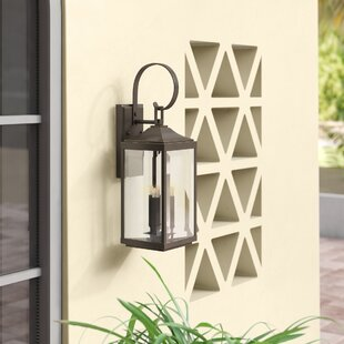 Inexpensive Kinlaw 3-Light Outdoor Wall Lantern By Alcott Hill