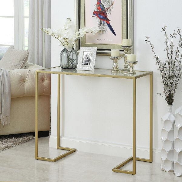 Glass Top Sofa Table Wayfair