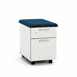 Steelcase Turnstone Mobile Pedestal with Cushion