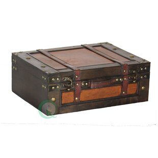 Williston Forge Doe Suitcase Trunk