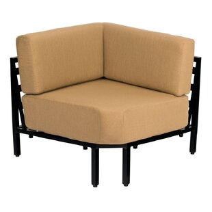Salona Corner Arm Sectional Piece with Cushions