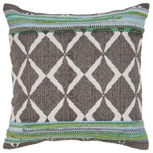 Robbie Geometric Cotton Throw Pillow
