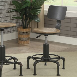Gowan Contemporary Adjustable Height Swivel Bar Stool Williston Forge