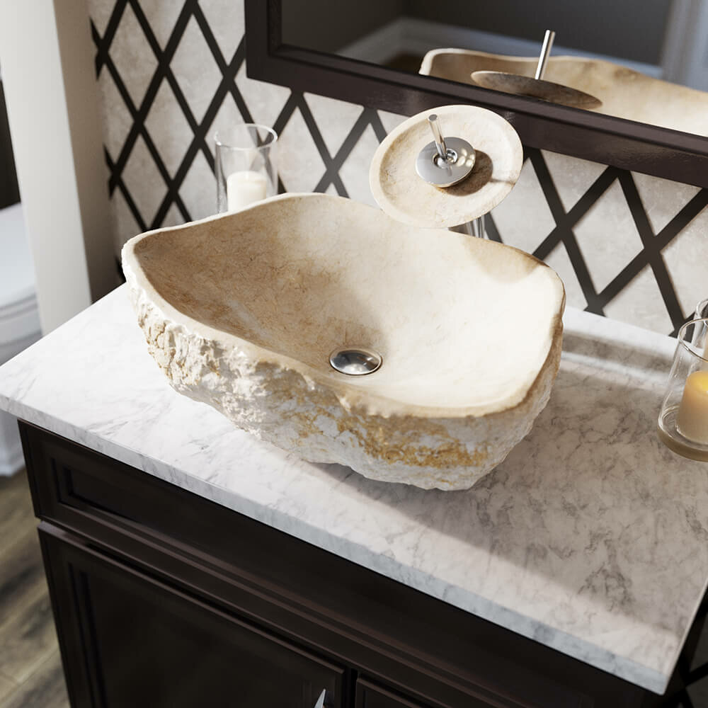 Mrdirect Galaga Stone Specialty Vessel Bathroom Sink Reviews Wayfair