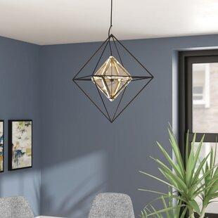 Canas 4-Light Geometric Chandelier by Brayden Studio