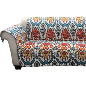 Capellen Box Cushion Loveseat Slipcover by B..