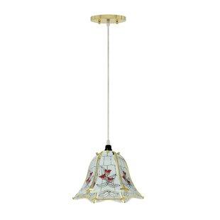 Lindquist 1-Light Bell Pendant by Astoria Grand