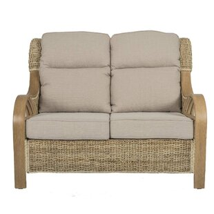 Humphries Banana Leaf Conservatory Loveseat By Beachcrest Home