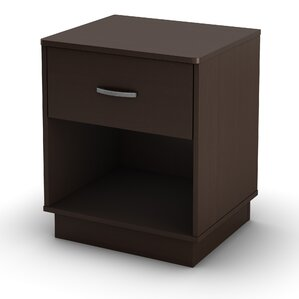 Logik 1 Drawer Nightstand by South Shore