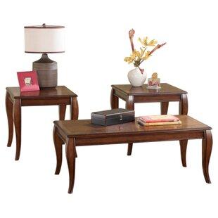 Charlton Home Crutchfield 3 Piece Coffee Table Set