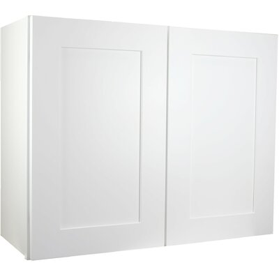 """Shaker 34.5"""" x 36"""" Wall Cabinet Cabinet Mania"""