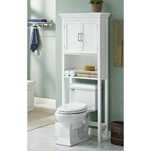 avington 27 w x 67 h over the toilet storage - Over Toilet Shelf