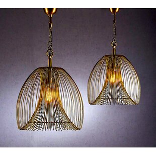 Fashion N You by Horizon Interseas Lawrence 1-Light Geometric Pendant