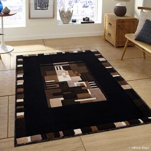 Compare & Buy Black Area Rug By AllStar Rugs