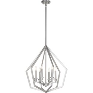 Wrought Studio Coleman 6-Light Lantern Pendant