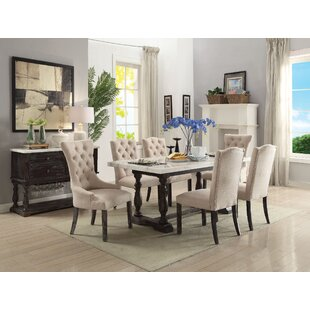 Nunan Upholstered Dining Chair (Set of 2) Gracie Oaks