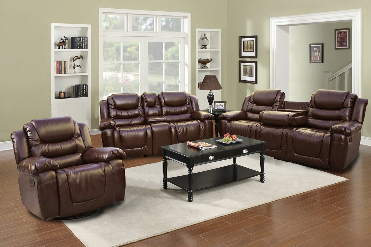 Beverly Fine Furniture Ottawa Configurable Living Room Set