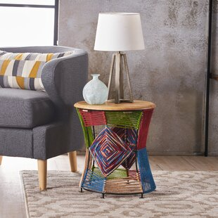 Read Reviews Emanuel End Table by Bungalow Rose