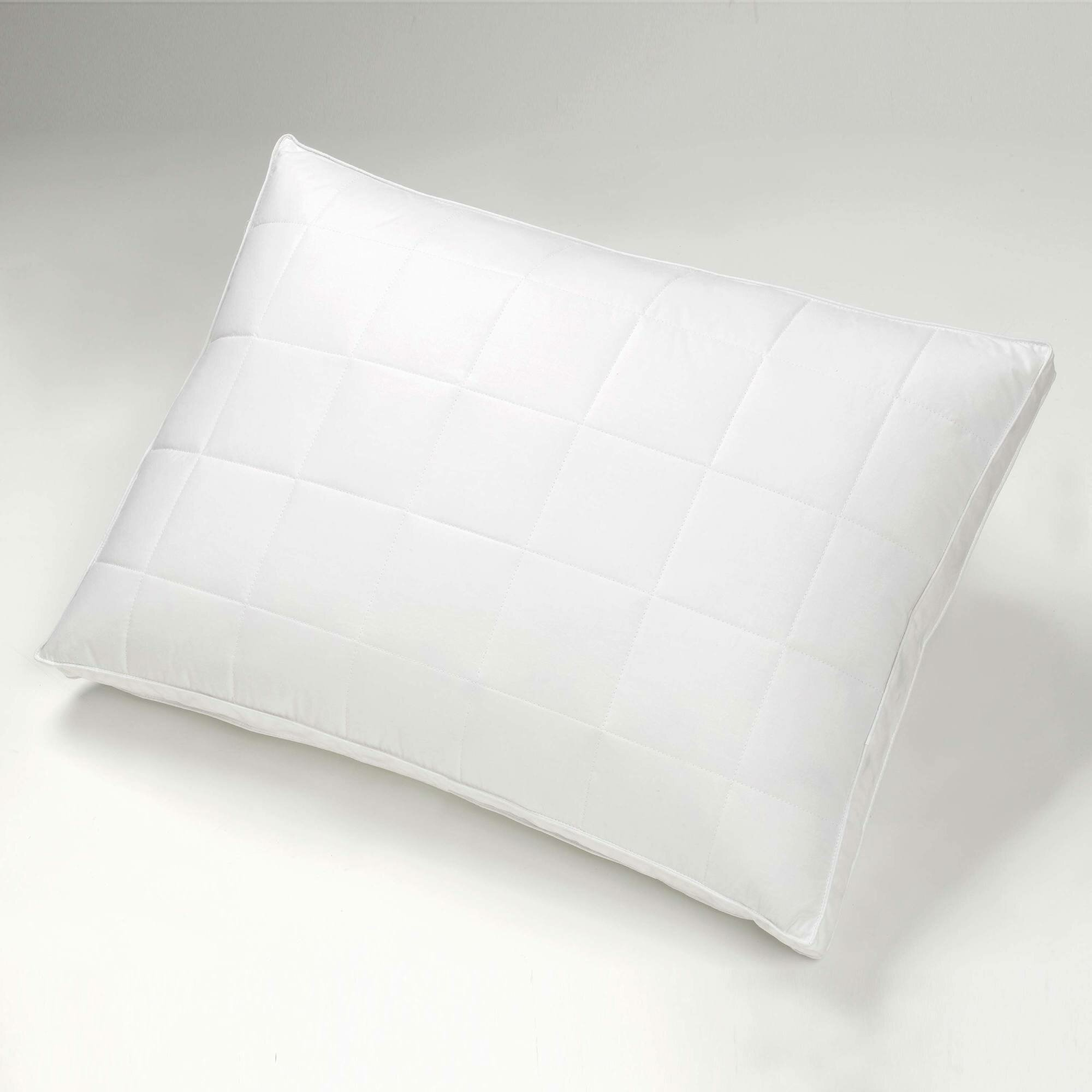 Izod Quilted Down And Feather Super Standard Pillow Reviews Wayfair