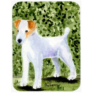 Jack Russell Terrier Glass Cutting Board By Caroline's Treasures