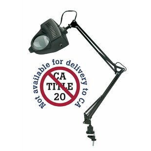 Owsley LED Swing-Arm Magnifier 18 Table Lamp