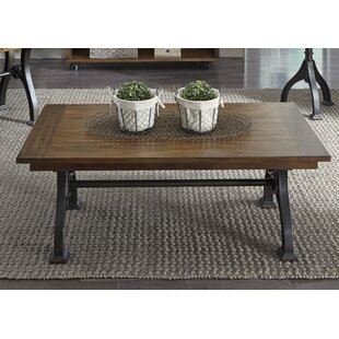 Hartford Rectangular Coffee Table by 17 Stories