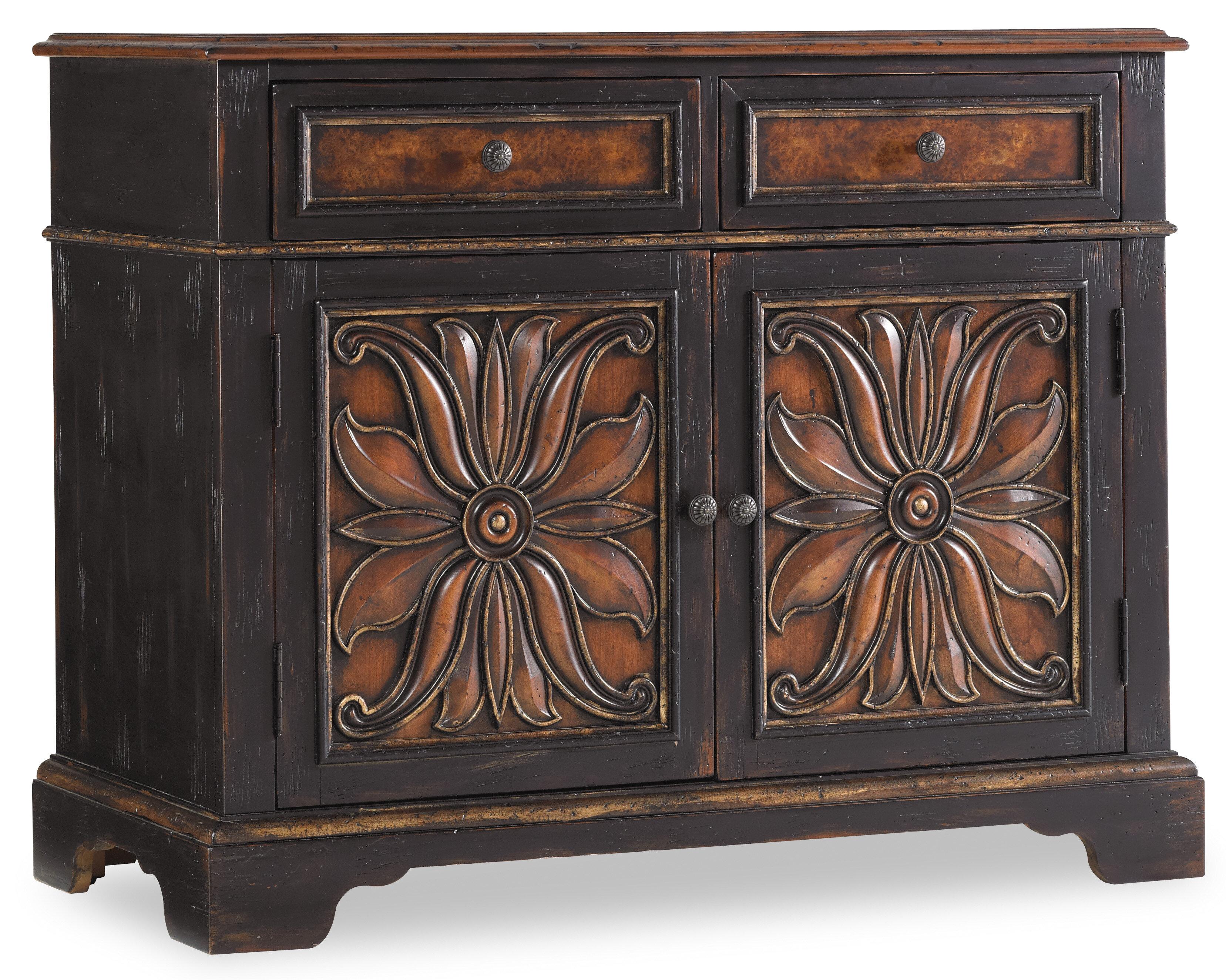 Hooker Furniture Grandover 2 Drawer 2 Door Accent Cabinet Reviews Perigold