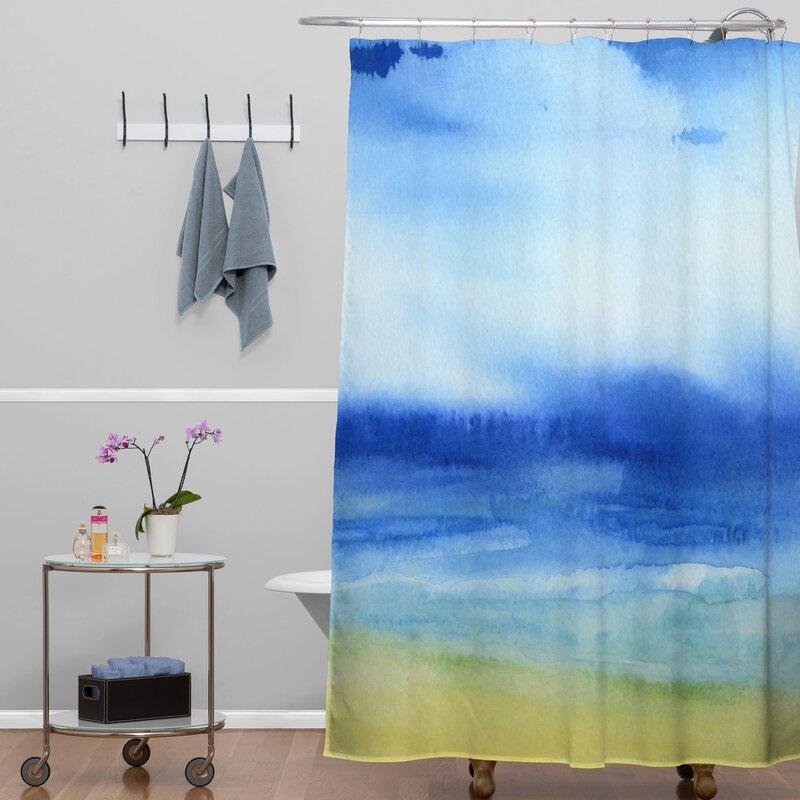 Jacqueline Maldonado Sea Church Shower Curtain