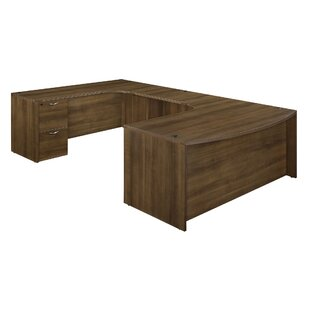 Fairplex Drawers U-Shape Executive Desk by Flexsteel Contract