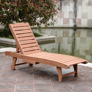 Thach Wooden Outdoor Recli..