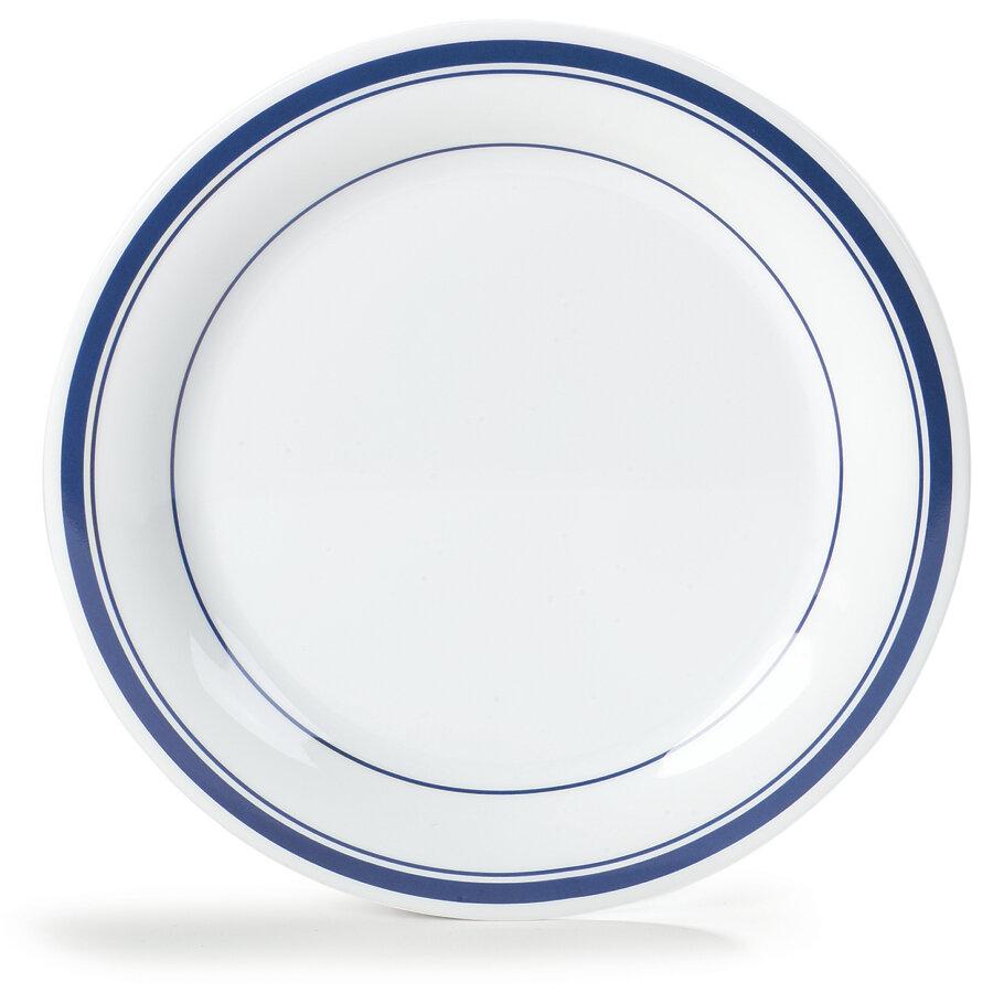 Carlisle Food Service Products Durus 10 5 Melamine Narrow Rim Dinner Plate Wayfair