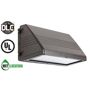 TriGlow Cuttoff 90-Watt LED Outdoor Security Wall Pack